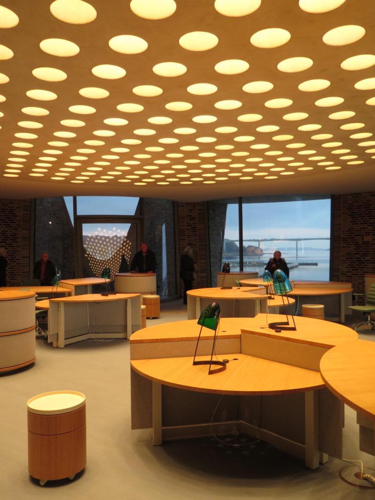 Arbejdsrum i Fjordenhus