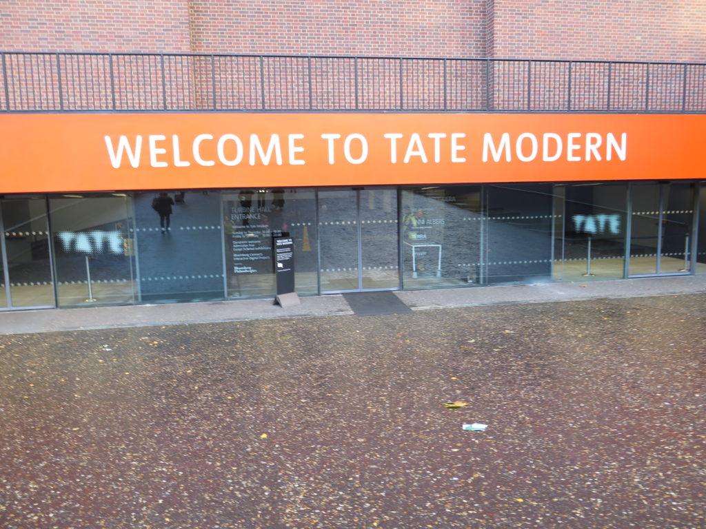 Velkommen til Tate Modern London
