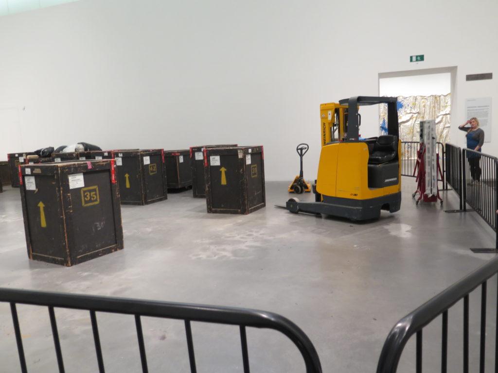 Et nyt værk på Tate Modern London?