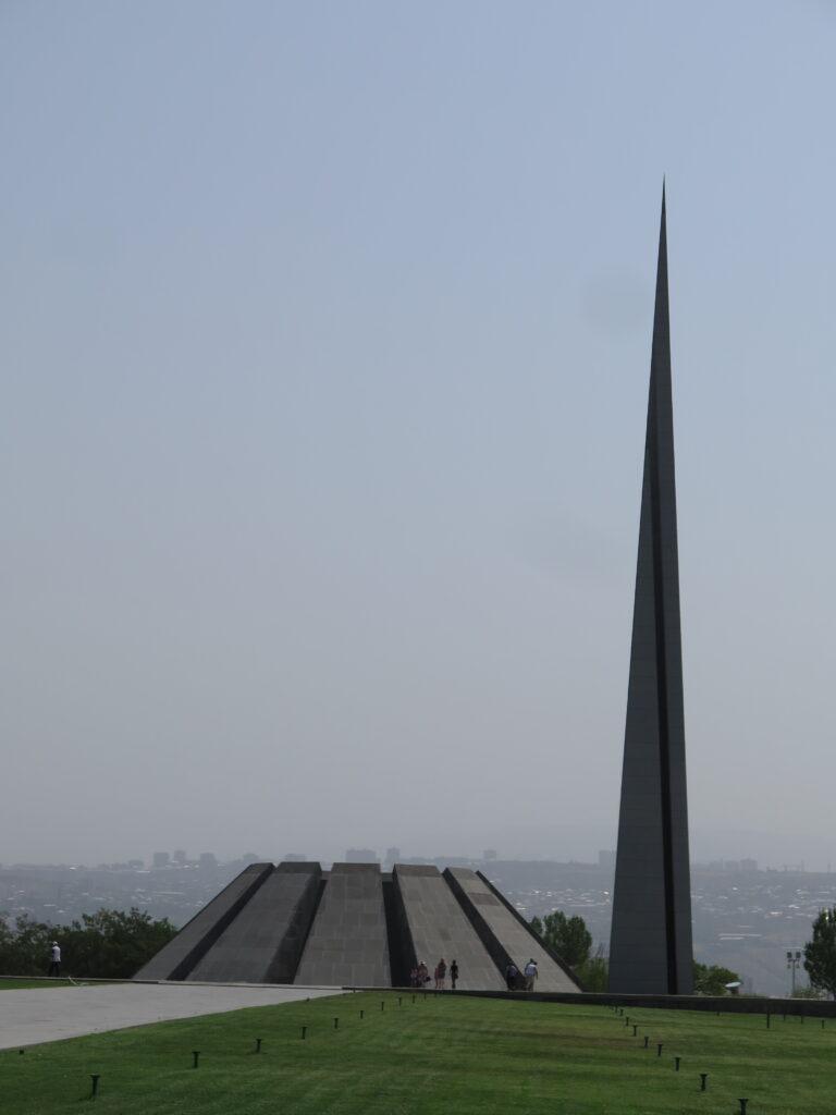 Det armenske folkemords-museum i Yerevan