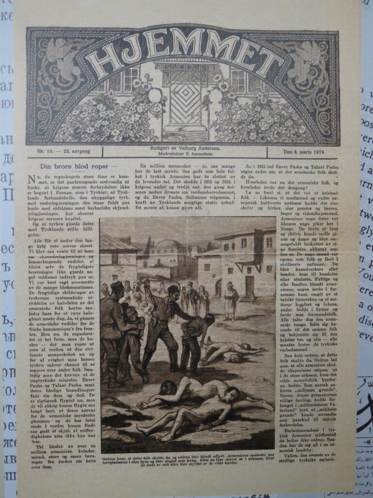 Ugebladet Hjemmet fra 6. marts 1919