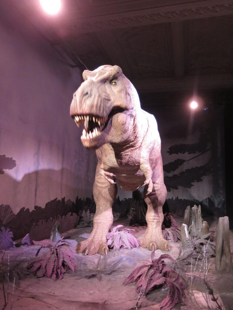 Dinosaur på Natural History Museum