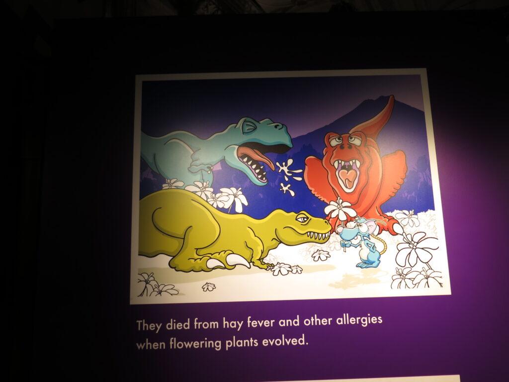 De døde af høfeber!