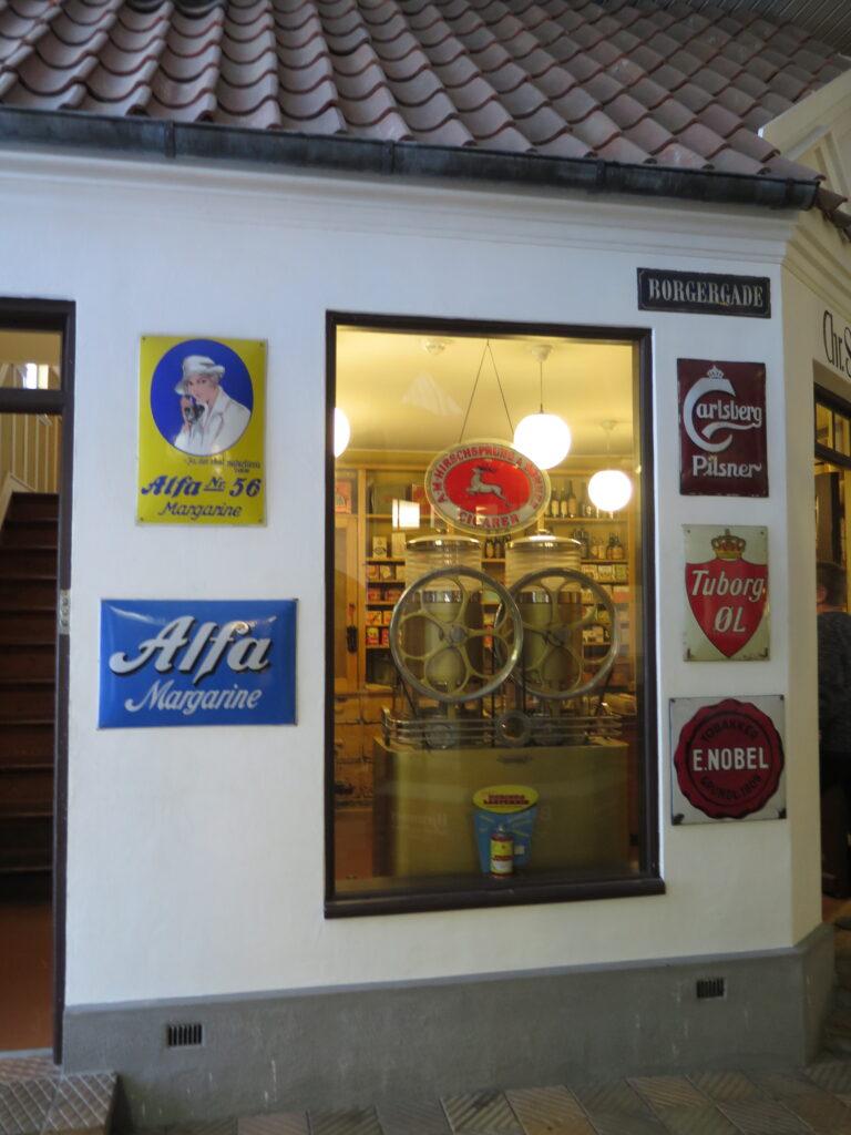 Købmandsbutik på Esbjerg Museum