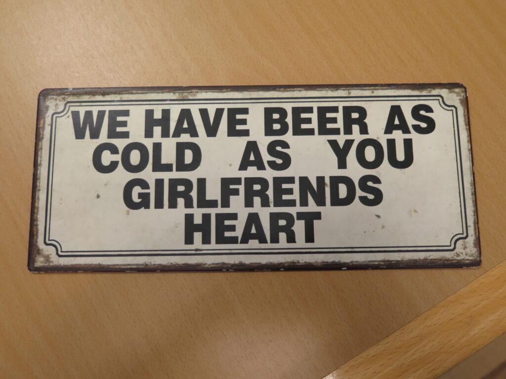 Ekstra kolde øl til salg