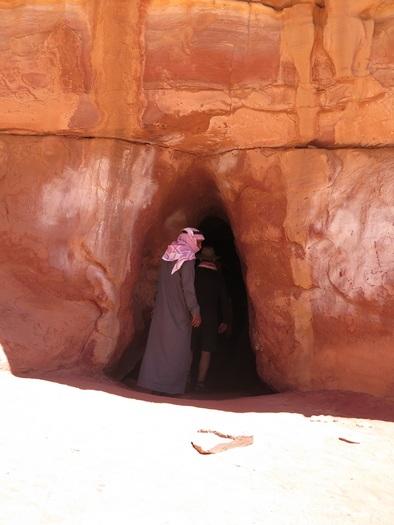 Fængsel i Wadi Rum ørkenen