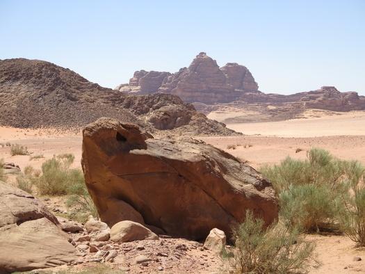 Wadi Rum ørkenen