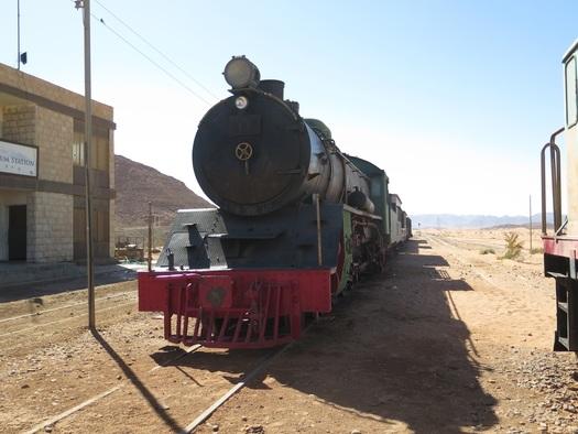 Wadi Rum Station i Jordan