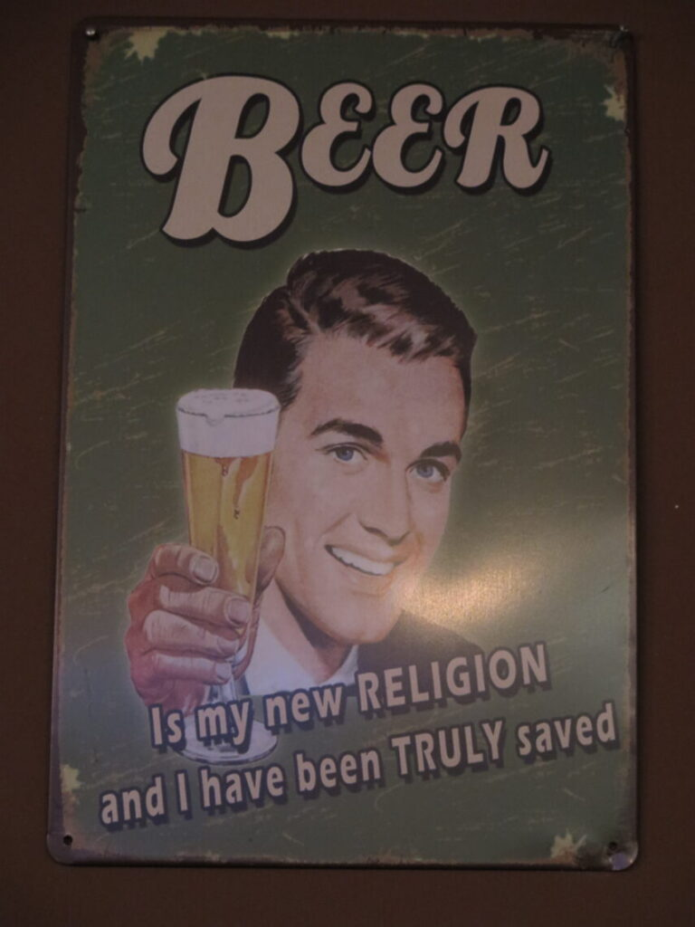 Beer is my new RELIGION and I have been TRULY saved