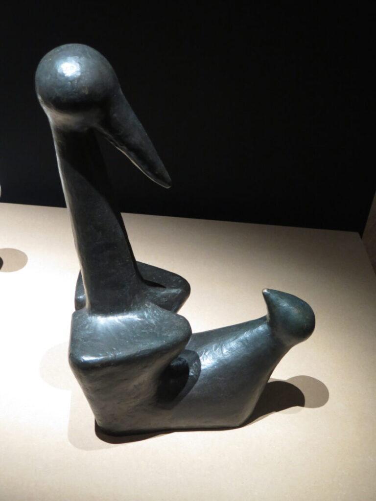 Fugl med unge 1935 - lavet i bronze af Sonja Ferlov Mancoba