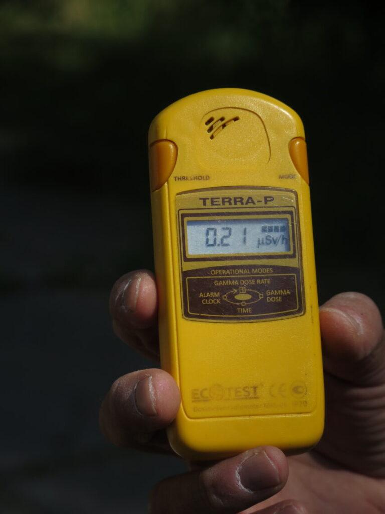 Løbende måling af stråling