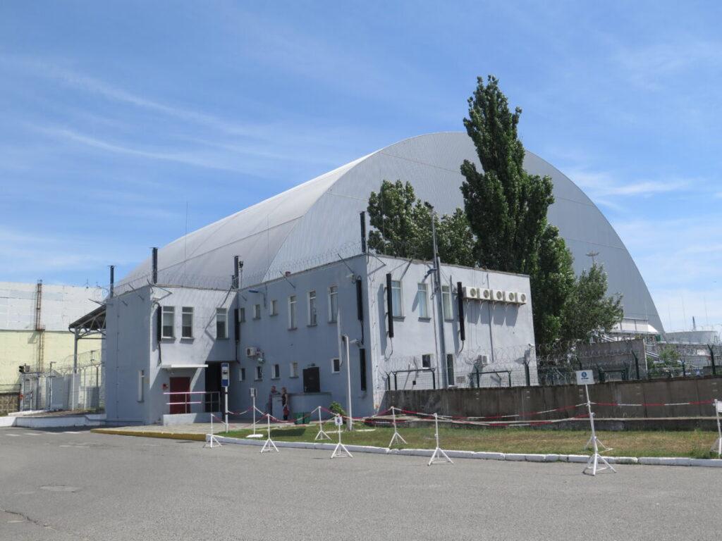 Nyt sarkofag indkapsler Tjernobylreaktoren