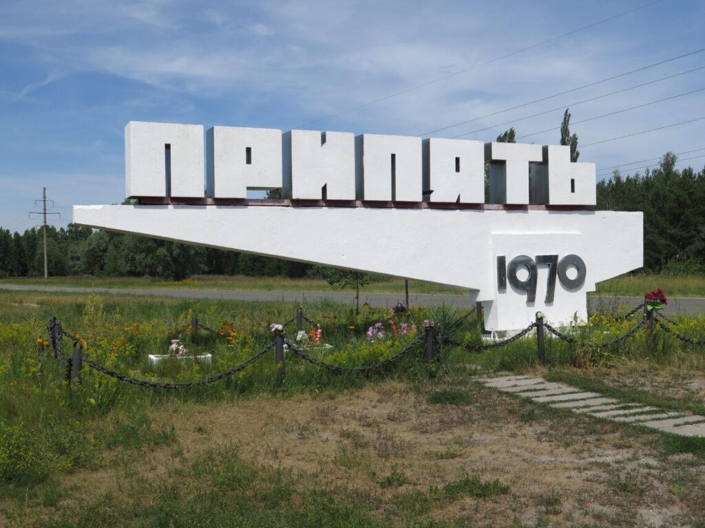 Byen Pripyat i Tjernobyl