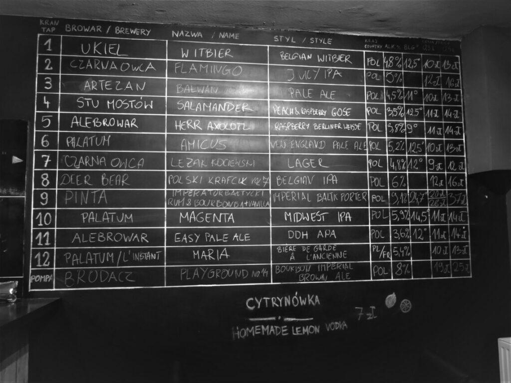 Mange forskellige slags øl sælges hos LA beer YNT