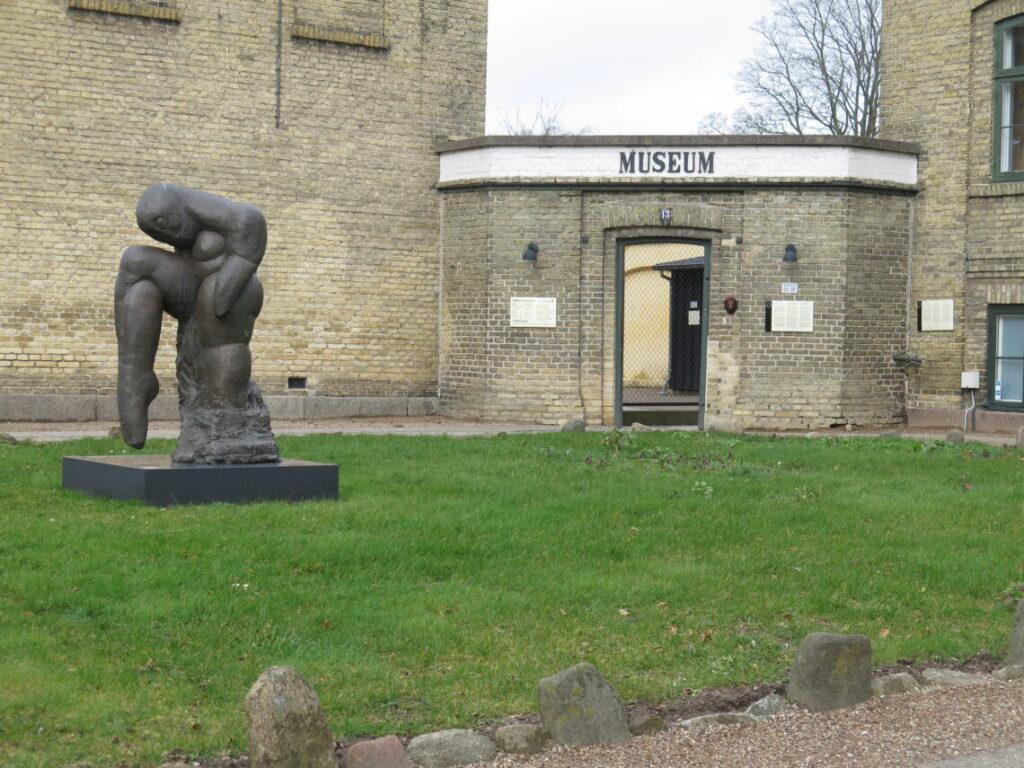 Indgangen til Danmarks Forsorgsmuseum i Svendborg