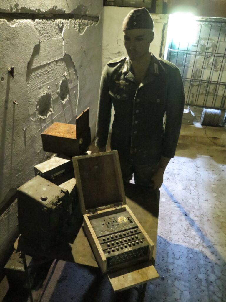 Mauerwald og Enigma-kodemaskinen