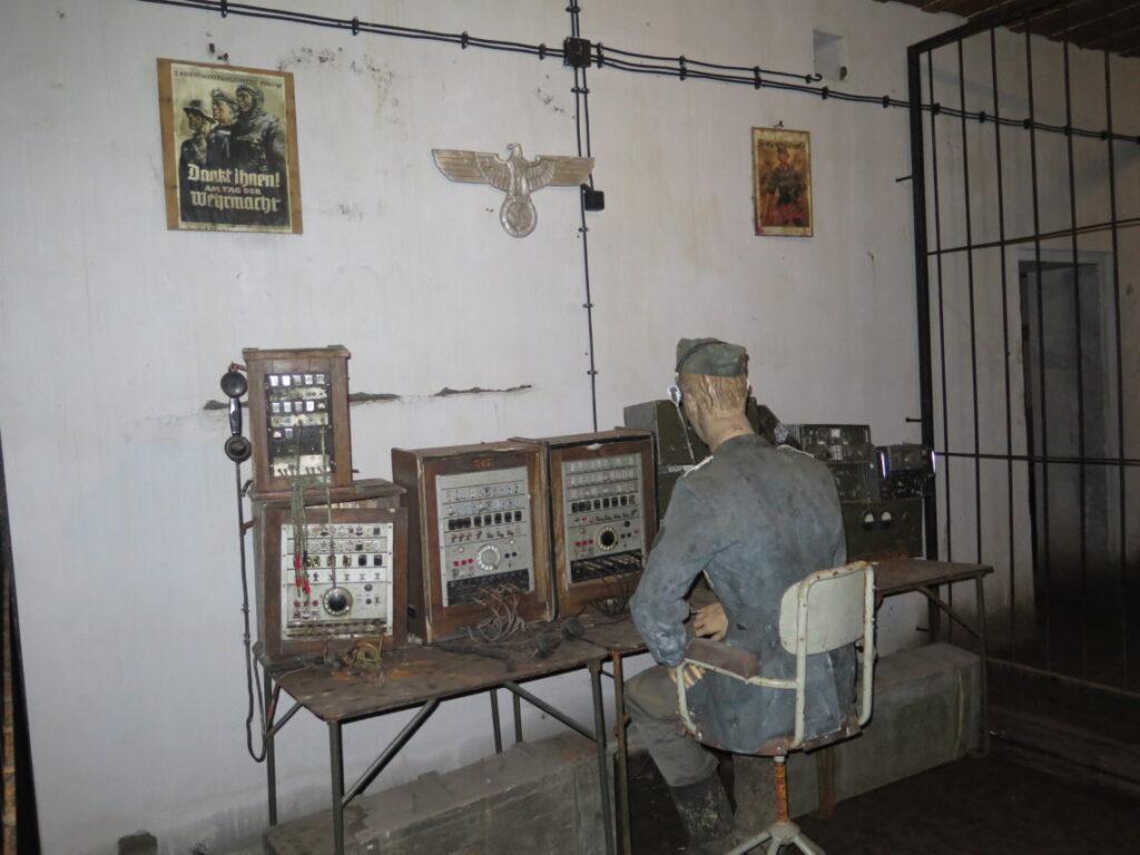 Kommunikation i Mauerwald og Enigma-kodemaskinen