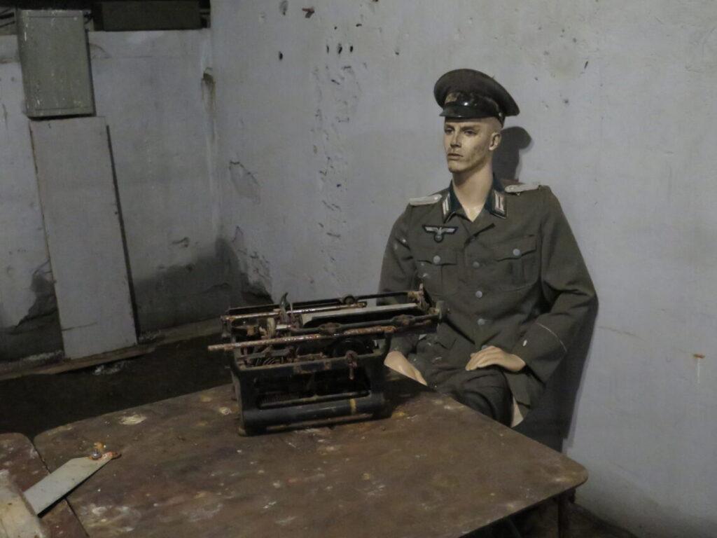 Almindelig skrivemaskine i Mauerwald