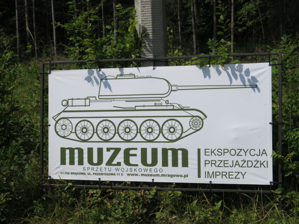 Museum i Mauerwald og Enigma-kodemaskinen