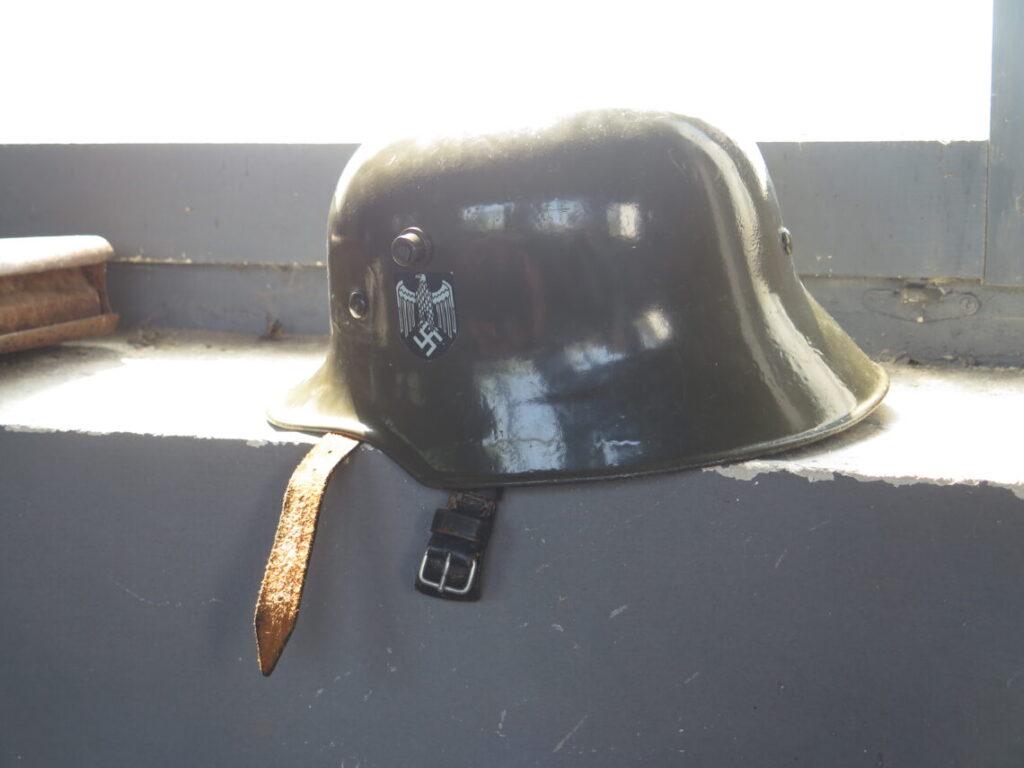 Tysk hjelm fra 2. Verdenskrig