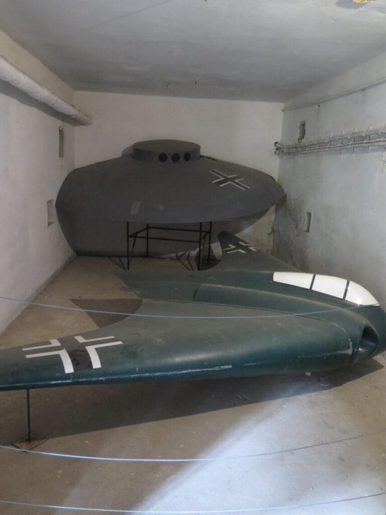 Horten Ho 229 og den flyvende tallerken Haunebu