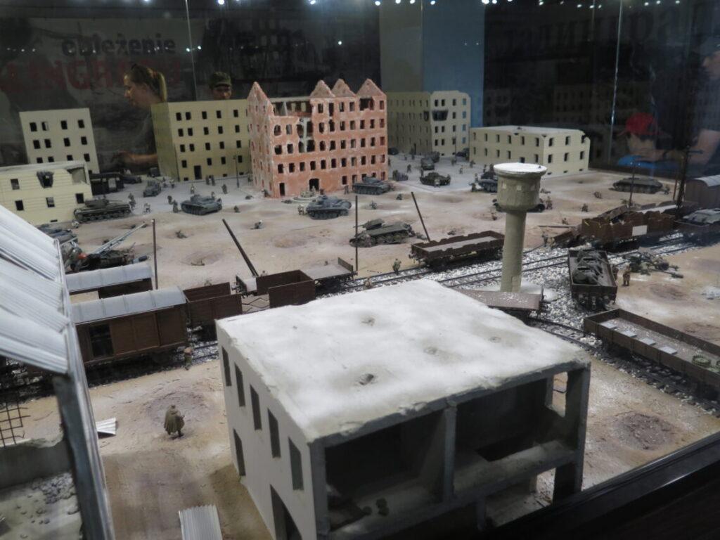 Model af Slaget om Stalingrad