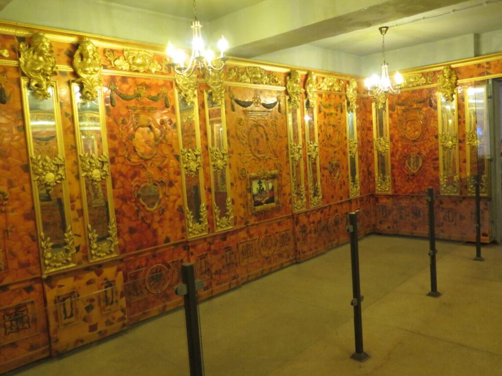 Rum i Mauerwald, der viser hvordan Ravkammeret så ud