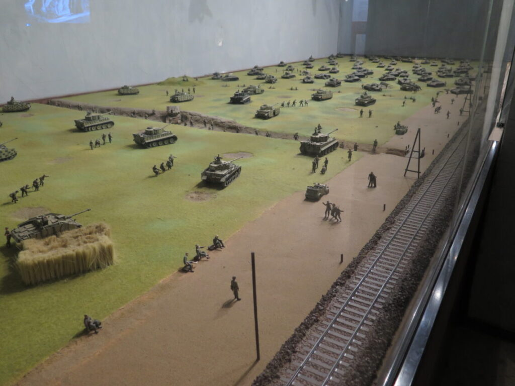 Model af Panserslaget ved Kursk