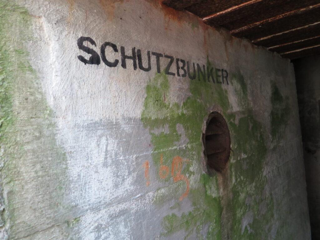 Schutzbunker (beskyttelsesrum) i Mauerwald