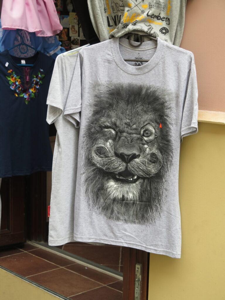 T-shirt fra Lviv - Løvernes by