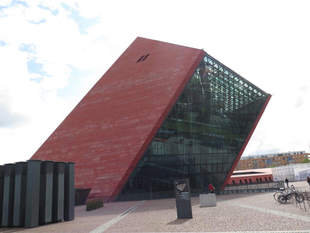 Anden Verdenskrigsmuseet i Gdansk set udefra