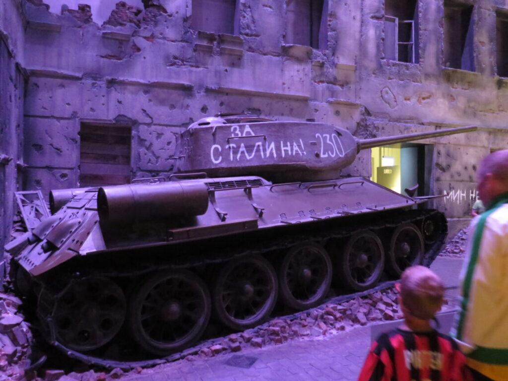 Gade efter krigen på Anden Verdenskrigsmuseet i Gdansk