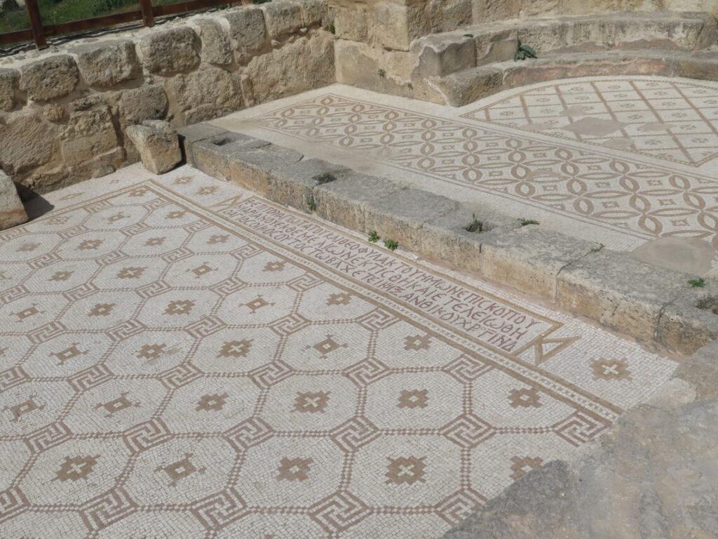 Mosaikker i Jerash