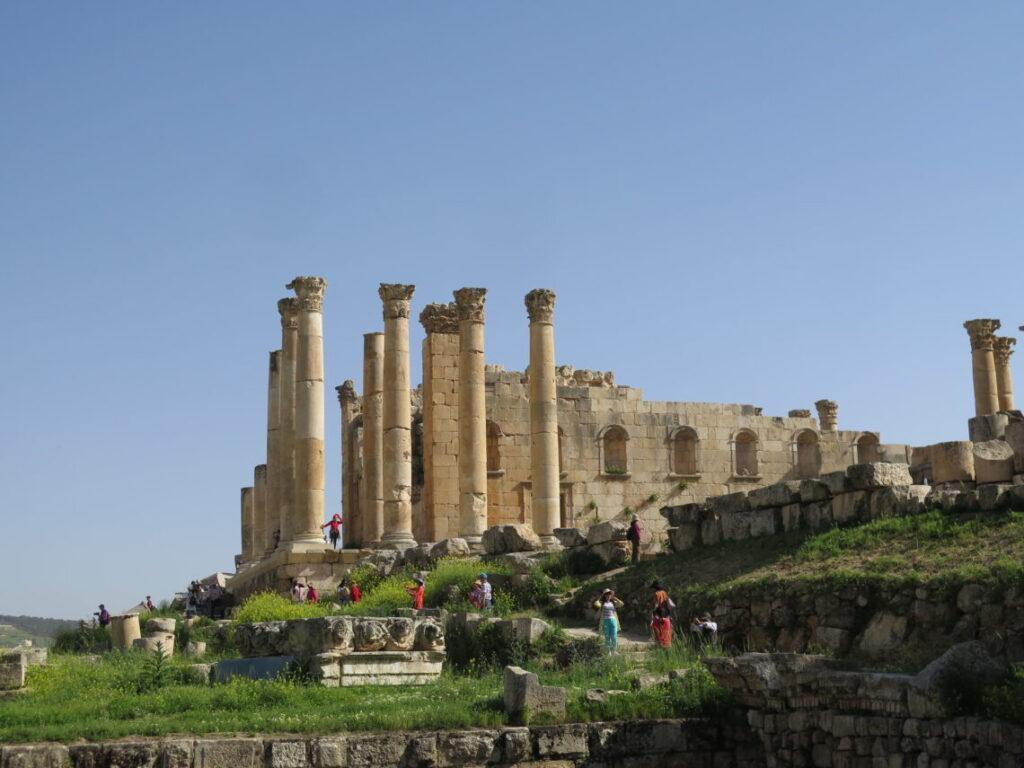 Zeustemplet i Jerash