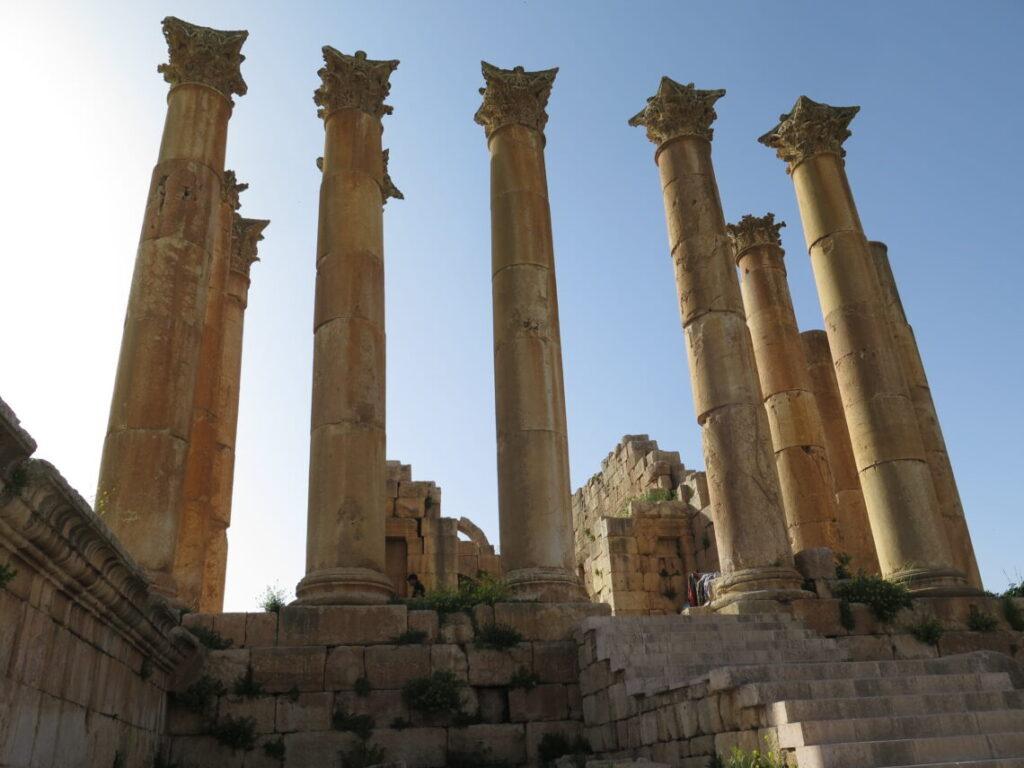 Artemistemplet fra 100-tallet i Jerash