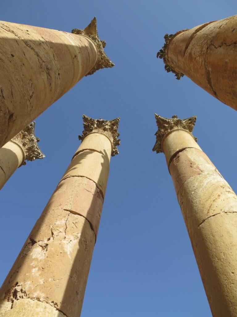 Artemistemplet set op mod himlen :-) Rejsebeskrivelser om Jordan