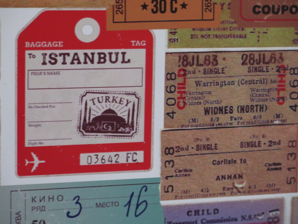 Billet til Istanbul