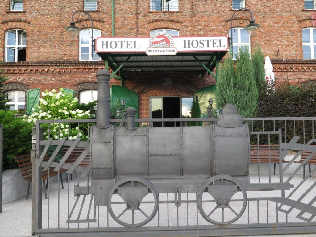 Overnatning i Torun i Polen på Hostel Przystanek. Overnatning i Torun i Polen