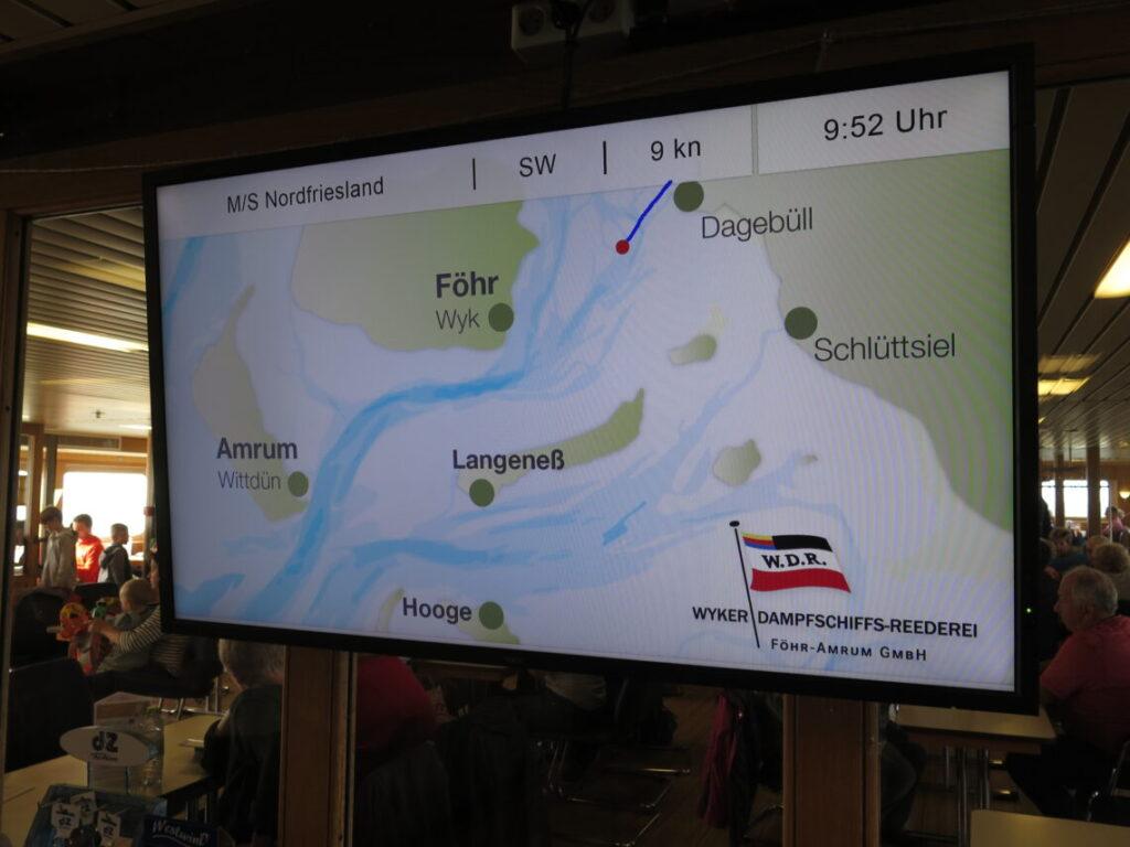 Sejle til Föhr fra Dagebüll på vej til at opleve dansk historie på Föhr
