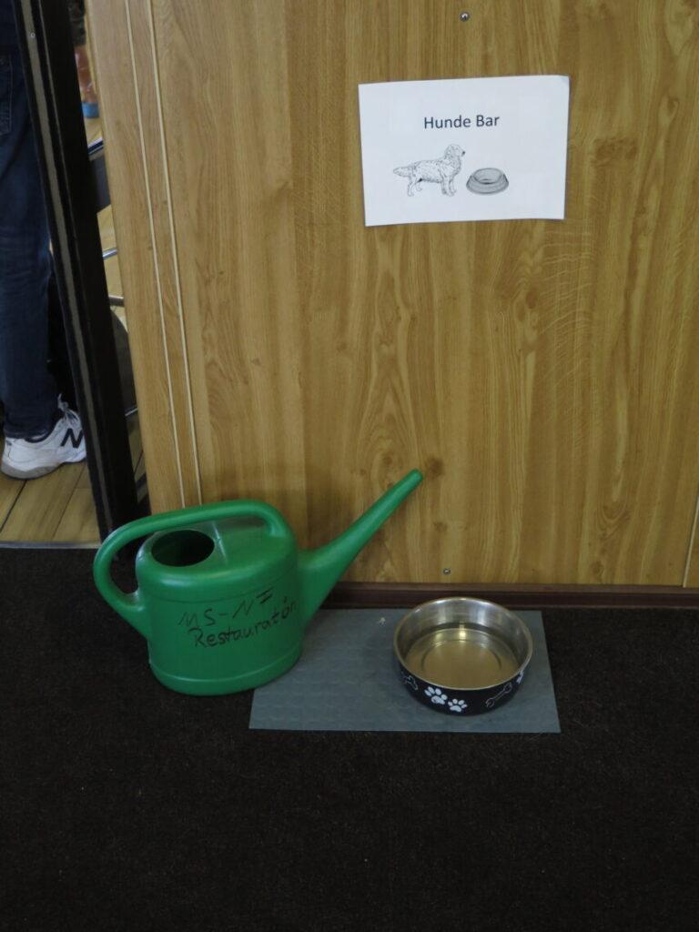 """Vand til hunden i """"Hunde baren"""""""