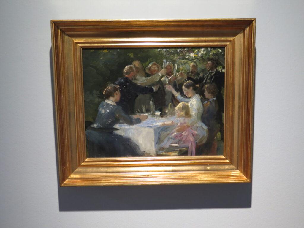 Peder Severin Krøyer: Hip, hip, hurra, 1888. Dansk historie på Föhr