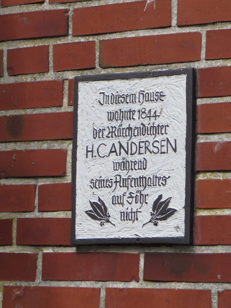 Her boede H. C. Andersen ikke men viser dansk historie på Föhr