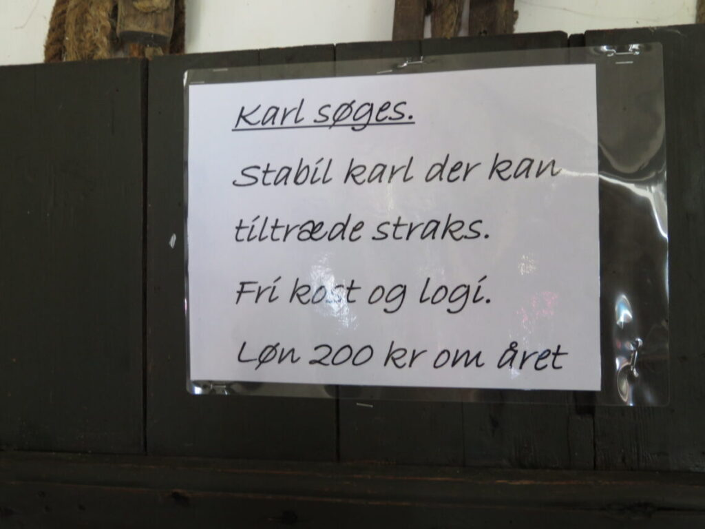 Karl søges .. hvis man mangler job :-)