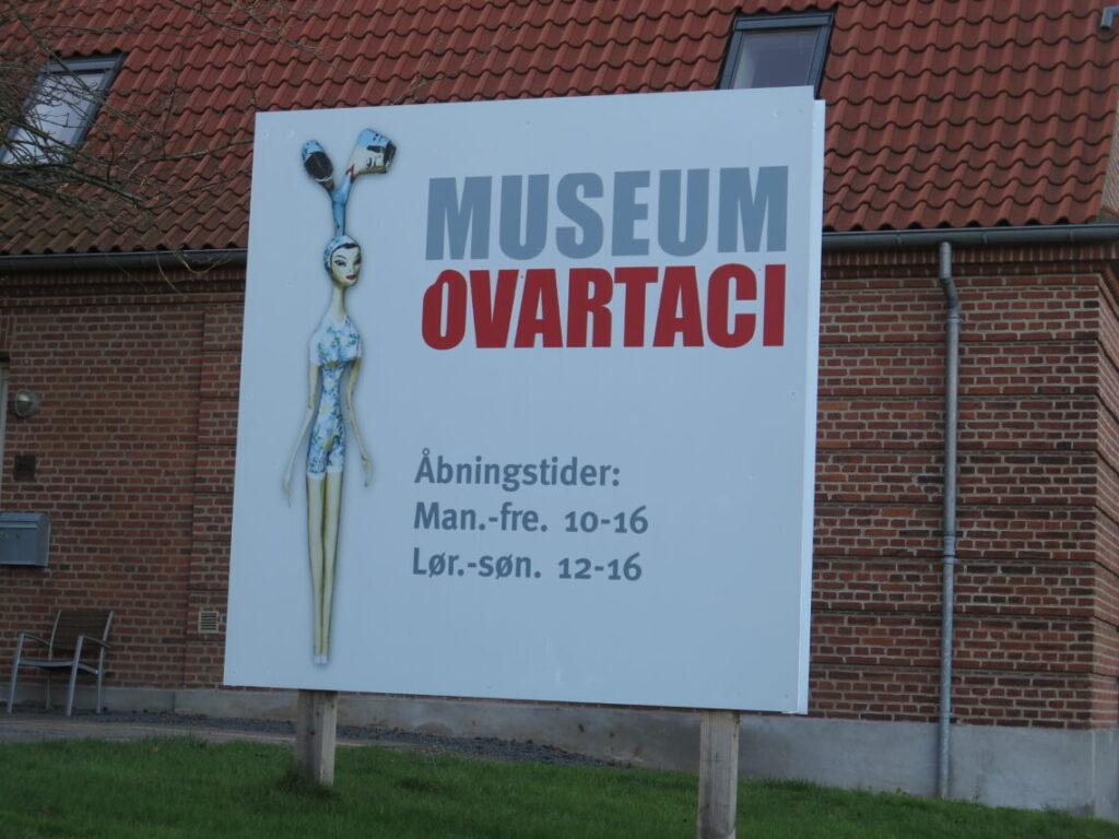 Museum Ovartaci i lånte lokaler