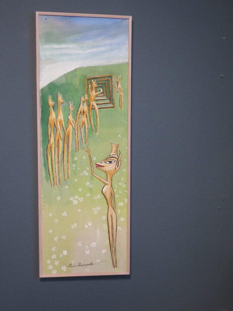 Maleri af Ovartaci