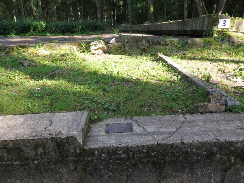 Bunker 3 i Ulveskansen, hvor attentatet fandt sted