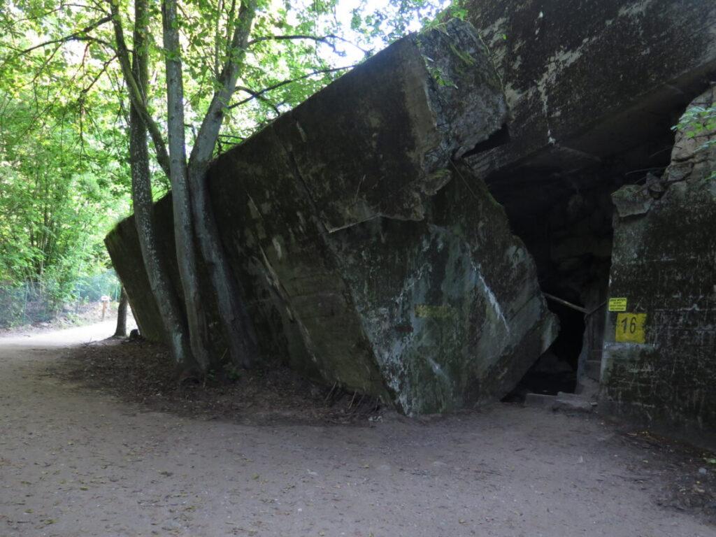 Görings bunker i Ulveskansen