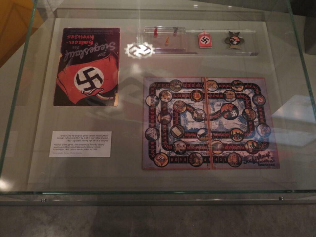 Spil om Nazipartiets historie 1919-1933 - På Holocaustmuseet Yad Vashem i Jerusalem