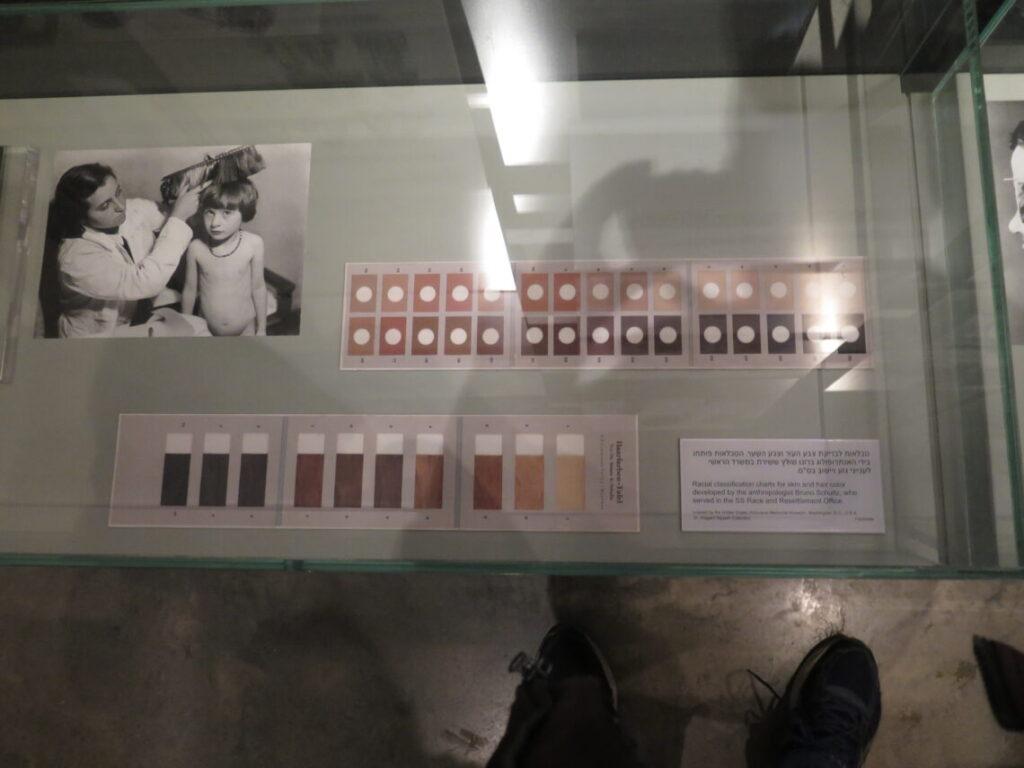 Hud- og hårfarve som bestemmelse af om man er jøde eller ej