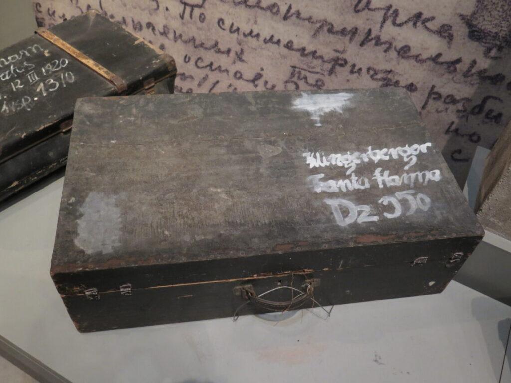Kufferten tilhørte Hanna Fanta